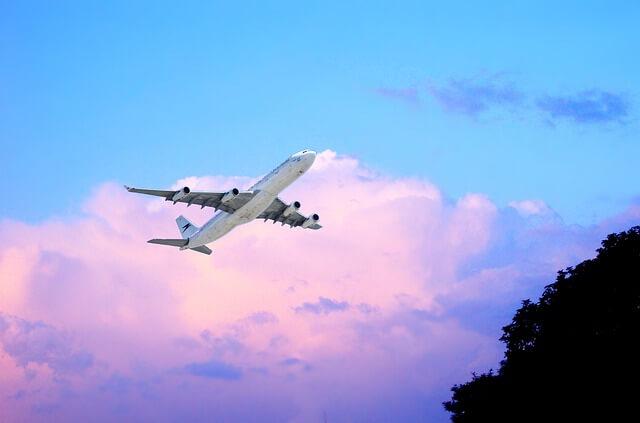 年末年始は飛行機で旅を