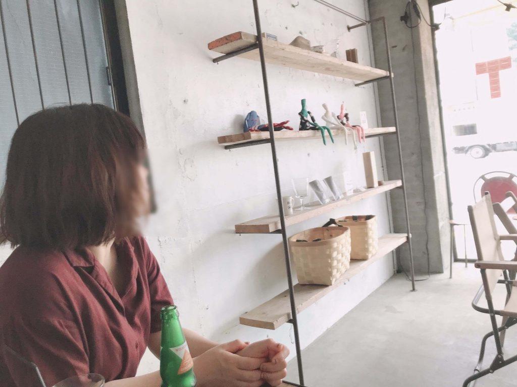 カフェ・ザ・モーニングの店内
