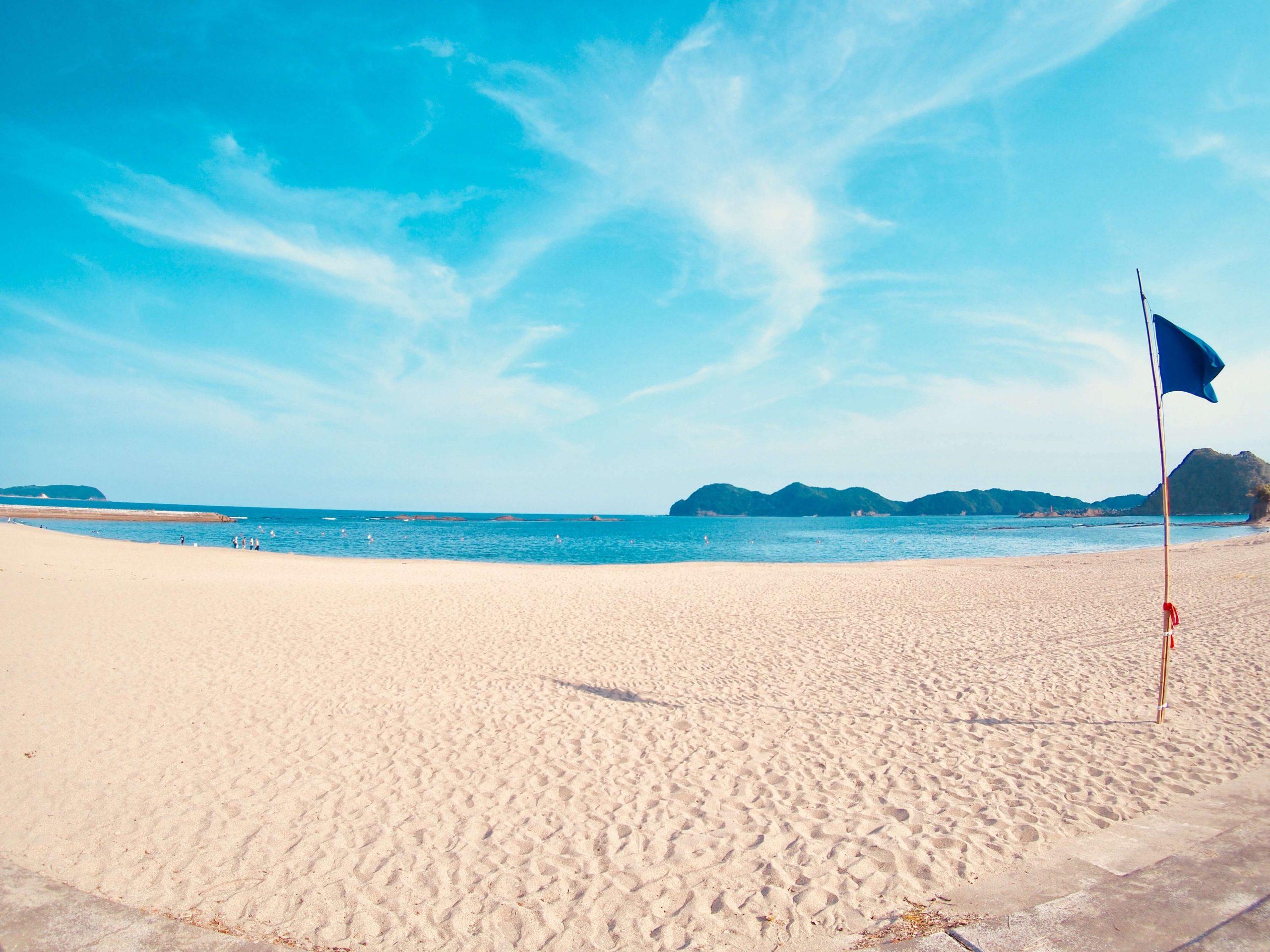 徳島・美波町の「大砂海水浴場」