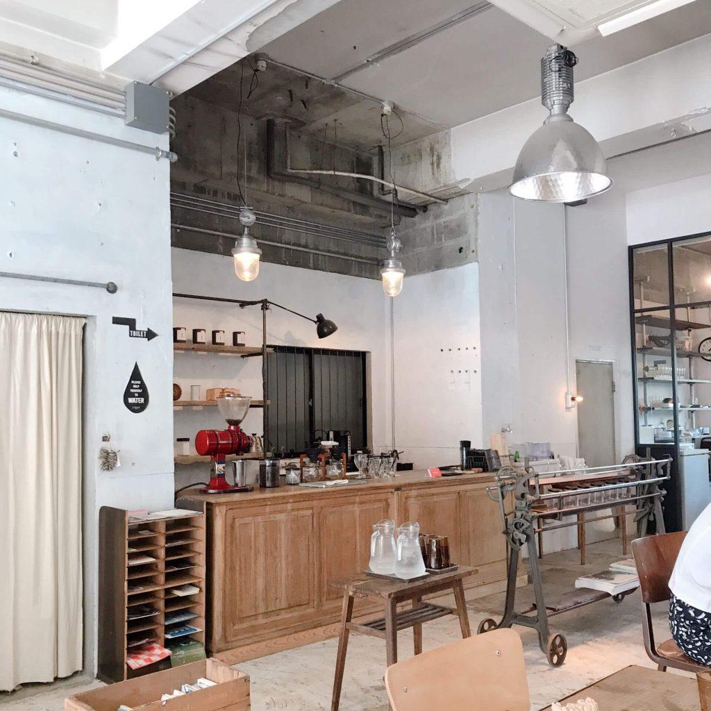 カフェ・ザ・モーニングの内装