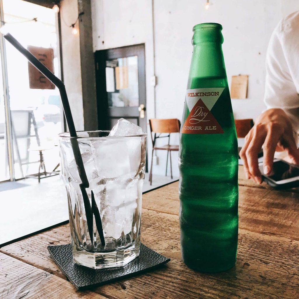 カフェ・ザ・モーニングのジンジャーエール