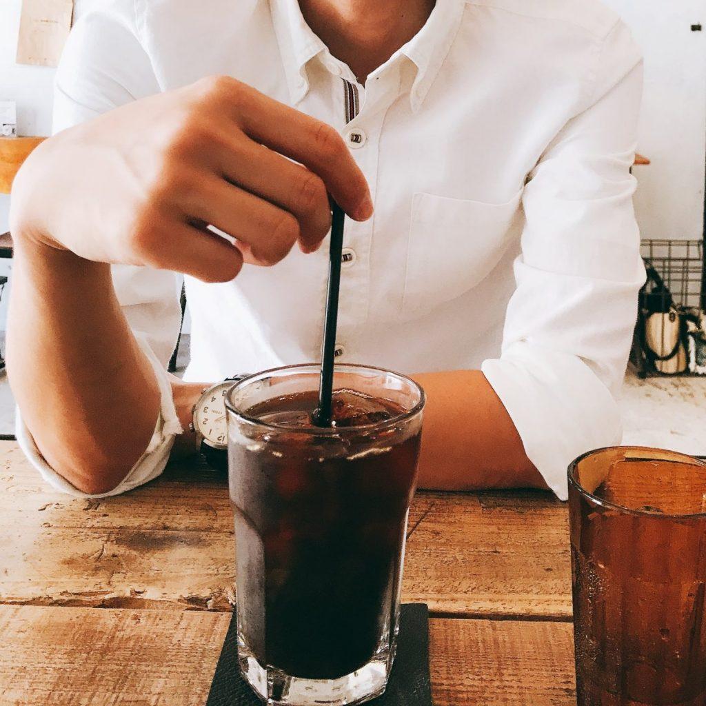 カフェ・ザ・モーニングのアイスコーヒー